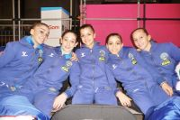 La Squadra Italiana juniores a Bruxelles (Foto D.Ciaralli)