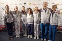 Il gruppo dell&#39;Italia senior (Foto D. Ciaralli)