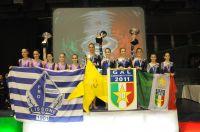 Il podio della Serie A1 Donne (Foto C. Palombo)