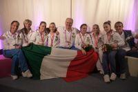 La Squadra azzurra bronzo a Bruxelles