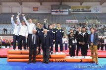 Il podio maschile