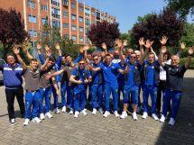 La delegazione azzurra impegnata a Berna per gli Europei GAM